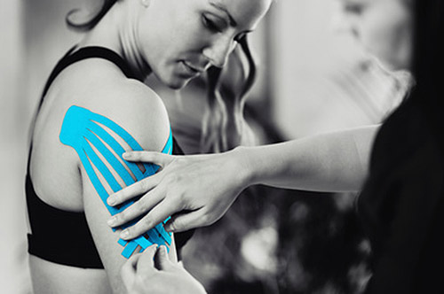 Kinesiologisches Tapen Physiotherapie Keller Wuppertal